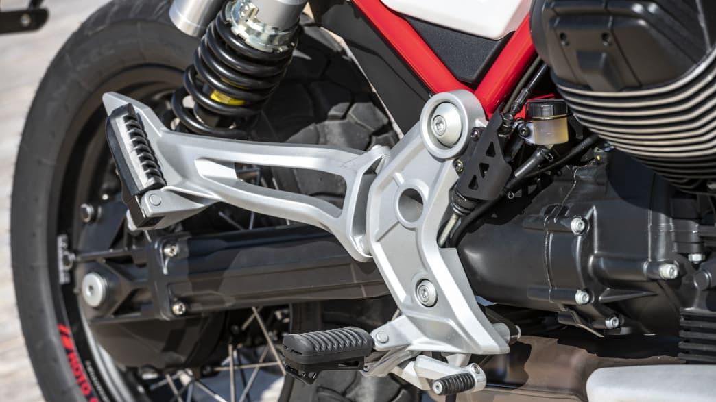 Moto Guzzi V85 TT Fußstütze