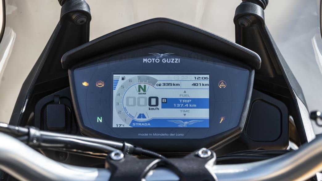 Moto Guzzi V85 TT Display