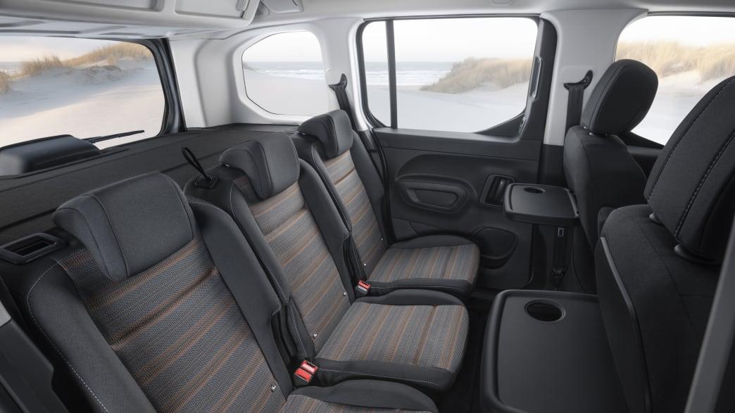 Opel Combo Rückbank