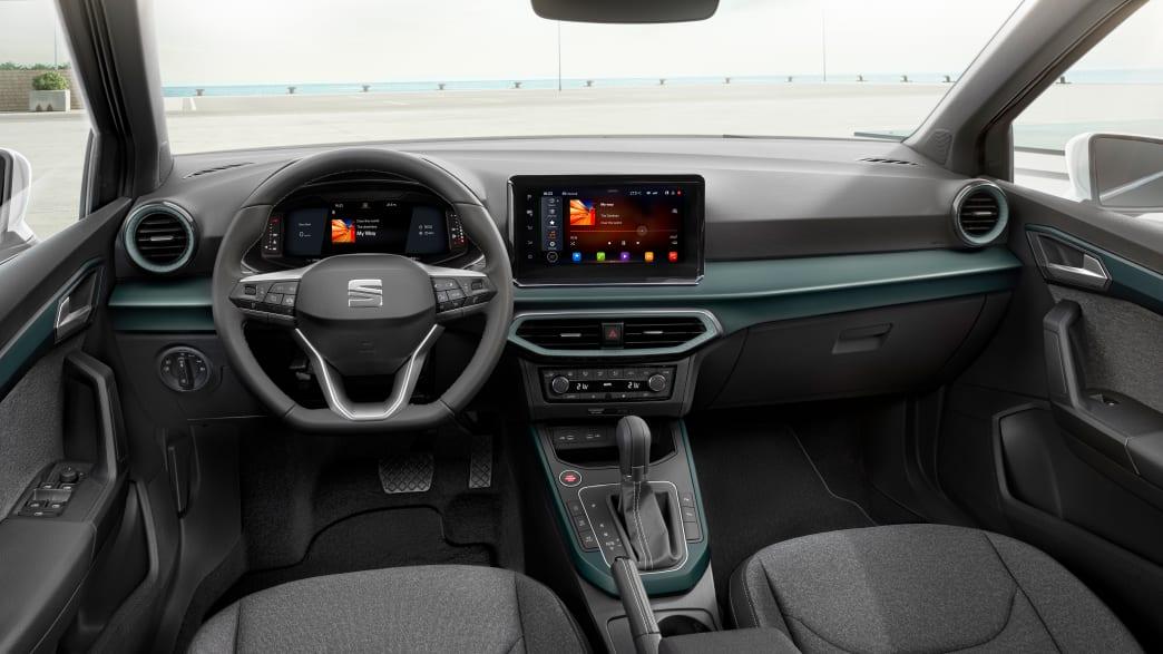 Cockpit des Seat Arona