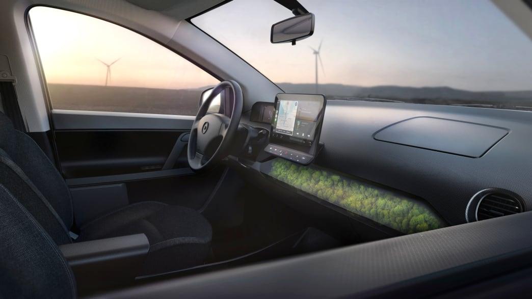 Cockpit des Sono Motors Sion