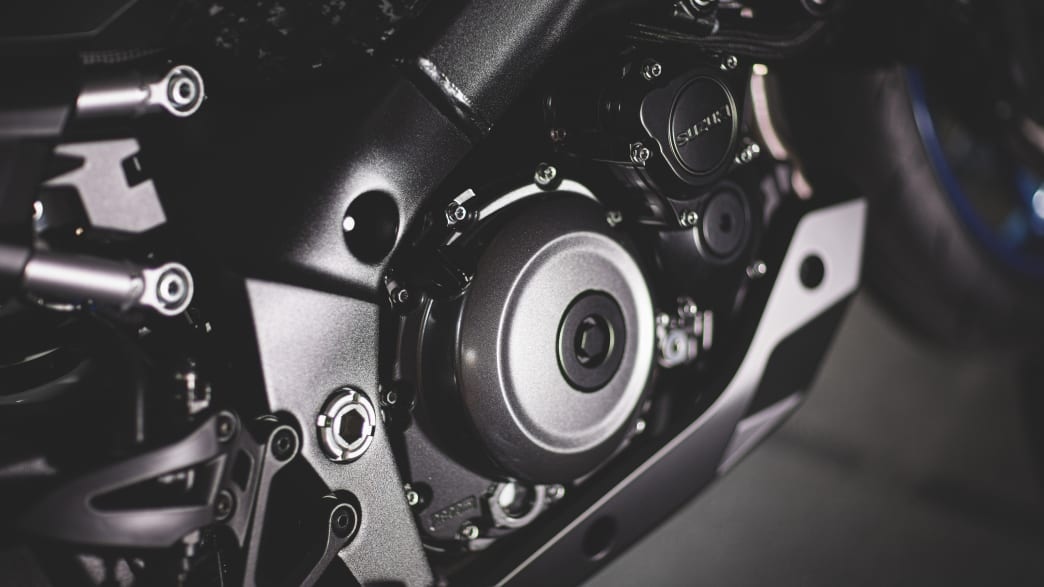 Motor der Suzuki GSX-S 1000