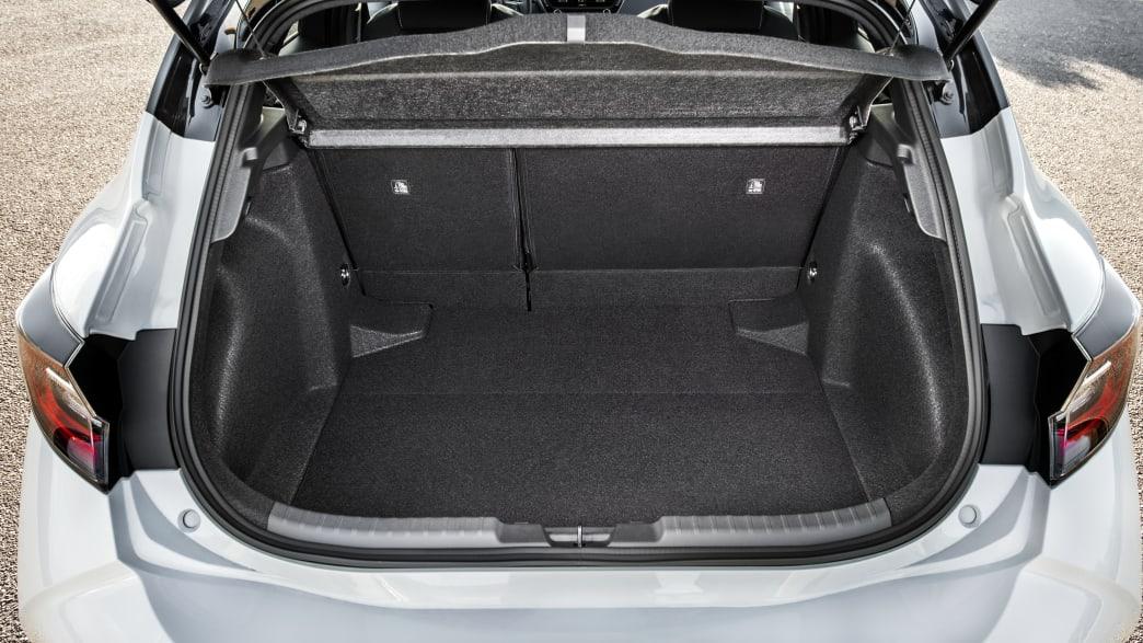 Kofferraum eines Toyota Corolla
