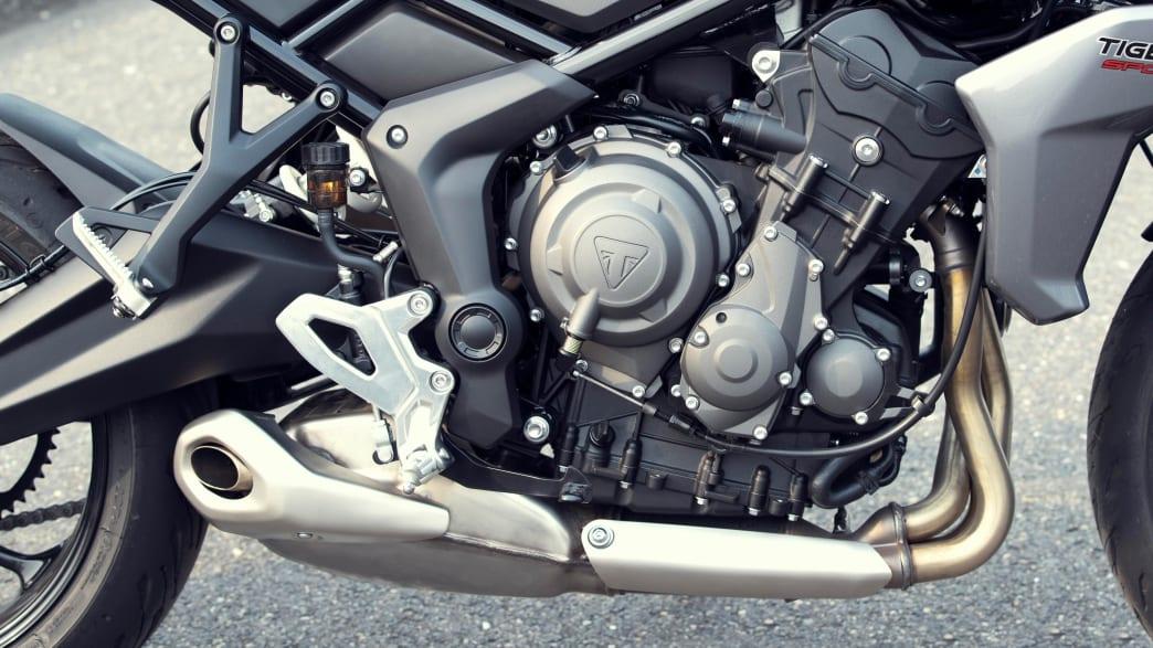 Motor der Triumph Tiger Sport 660