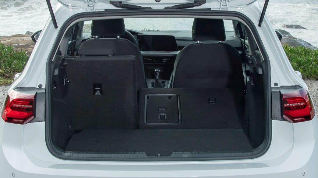 Der neue Golf 8 mit variablem Kofferraum