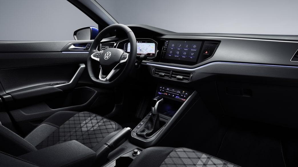 Das Cockpit des neuen VW Polo