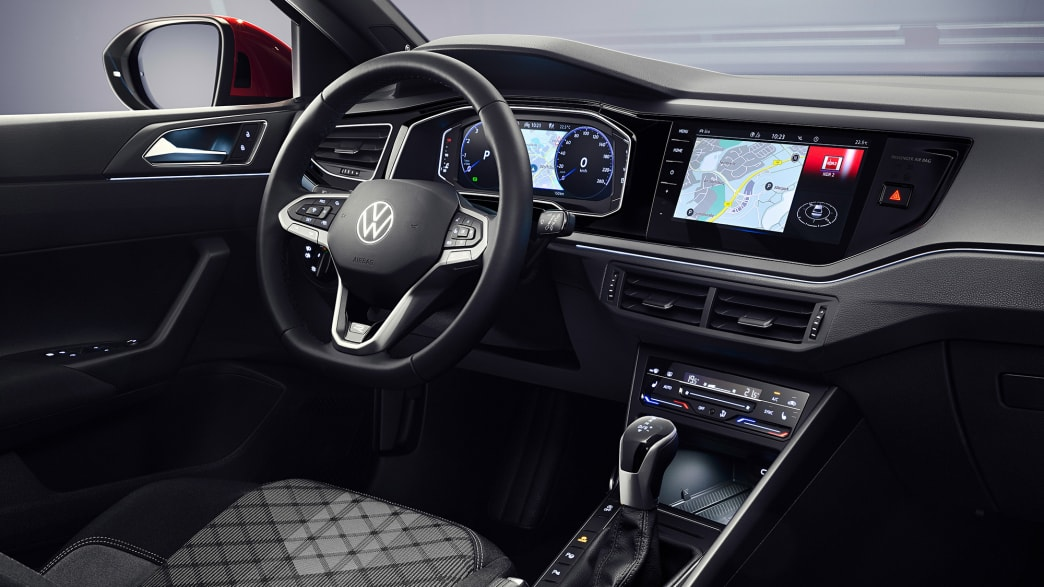 Das Cockpit des VW Taigo