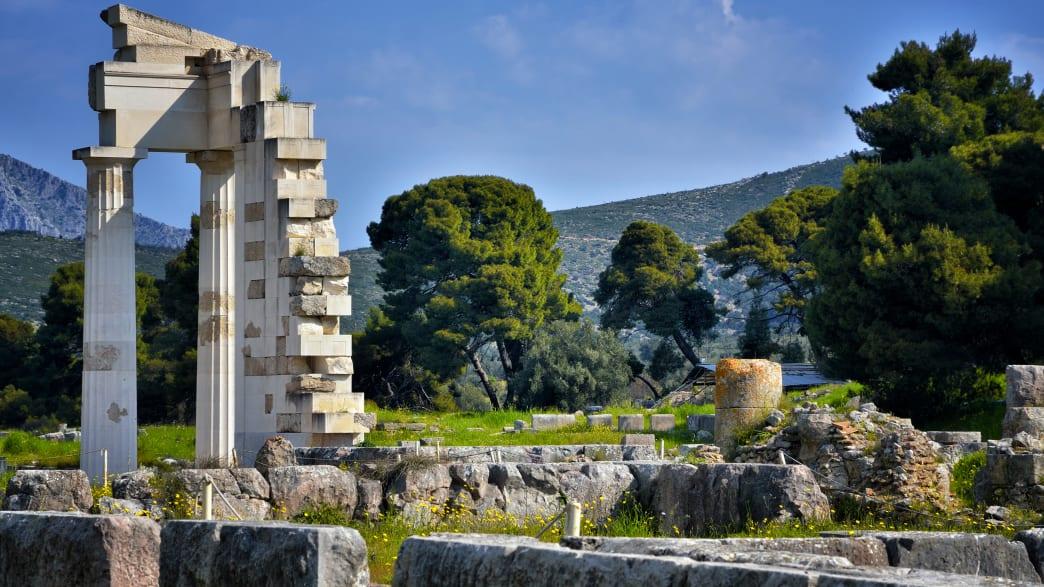 Archäologische Stätte von Asklipieion