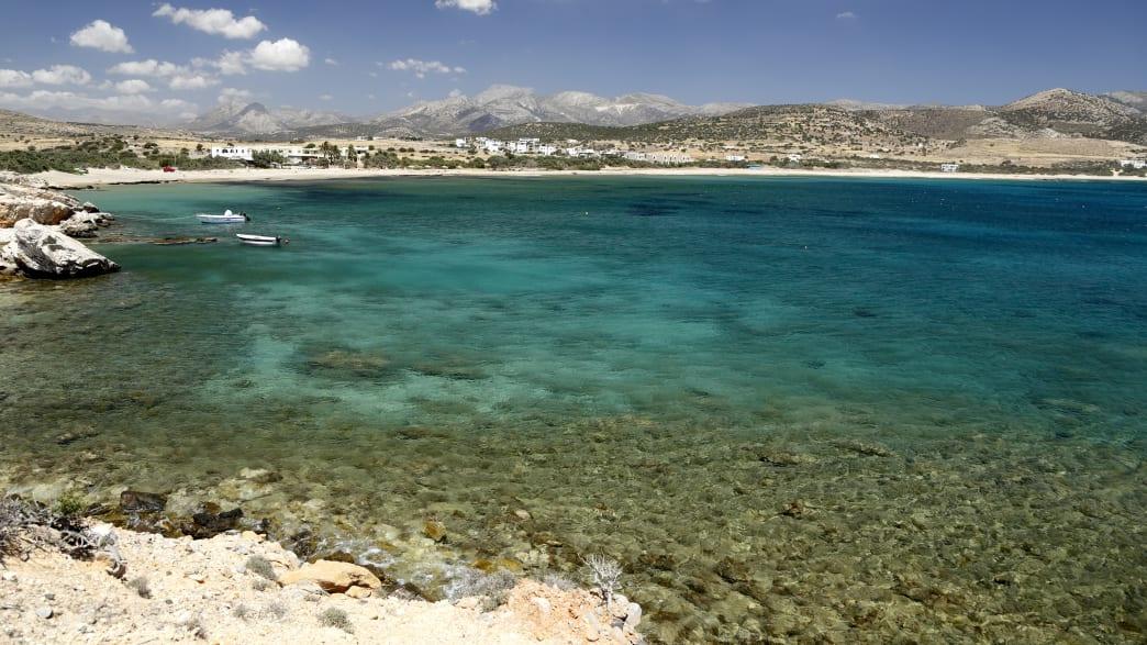 Pyrgaki Strand auf Naxos