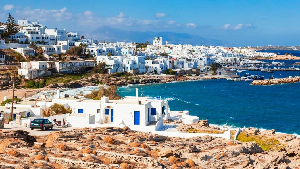 Parikia auf der Insel Paros