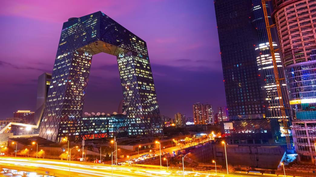 Skyline in Peking