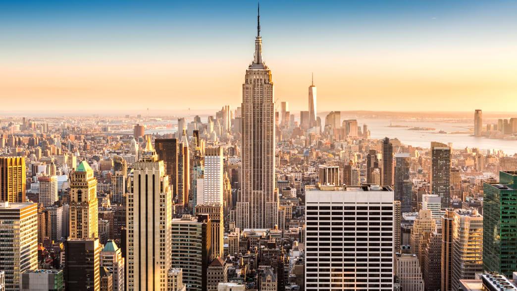 Skyline von New York mit Empire State Building