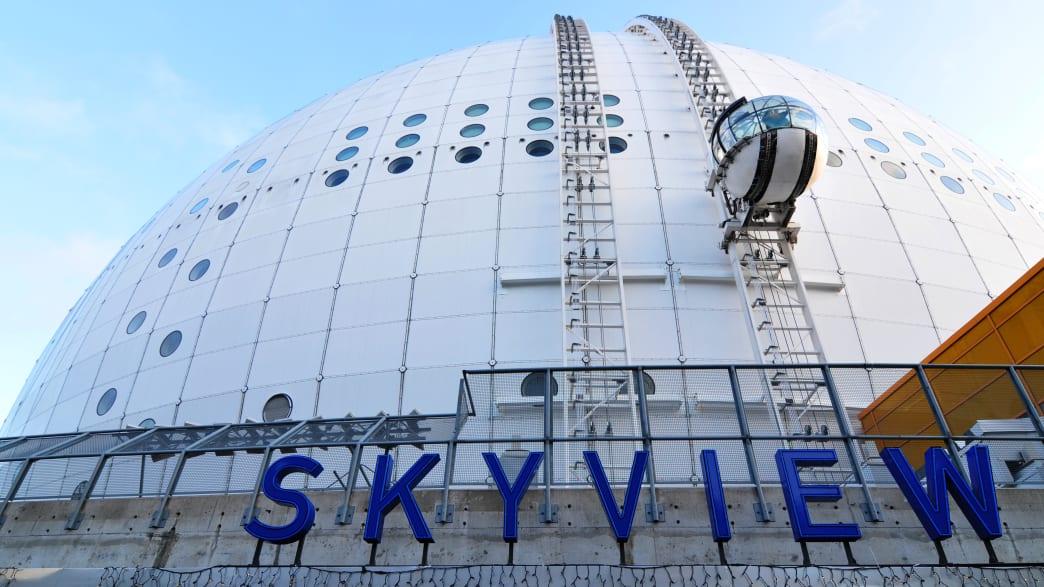 SkyView Kuppel in Stockholm