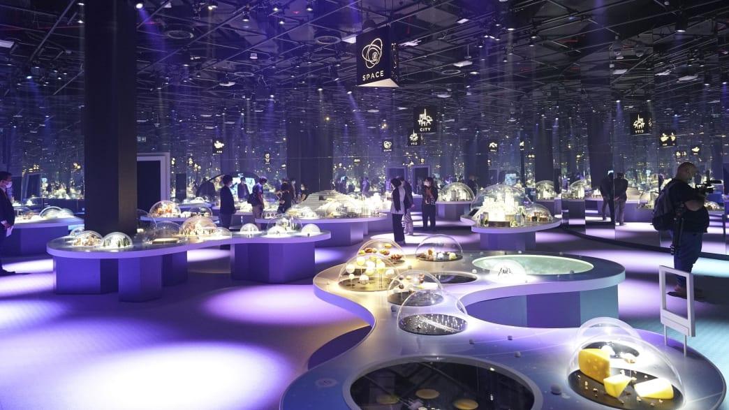 Blick in den japanischen Pavillion auf der EXPO 2020 in Dubai