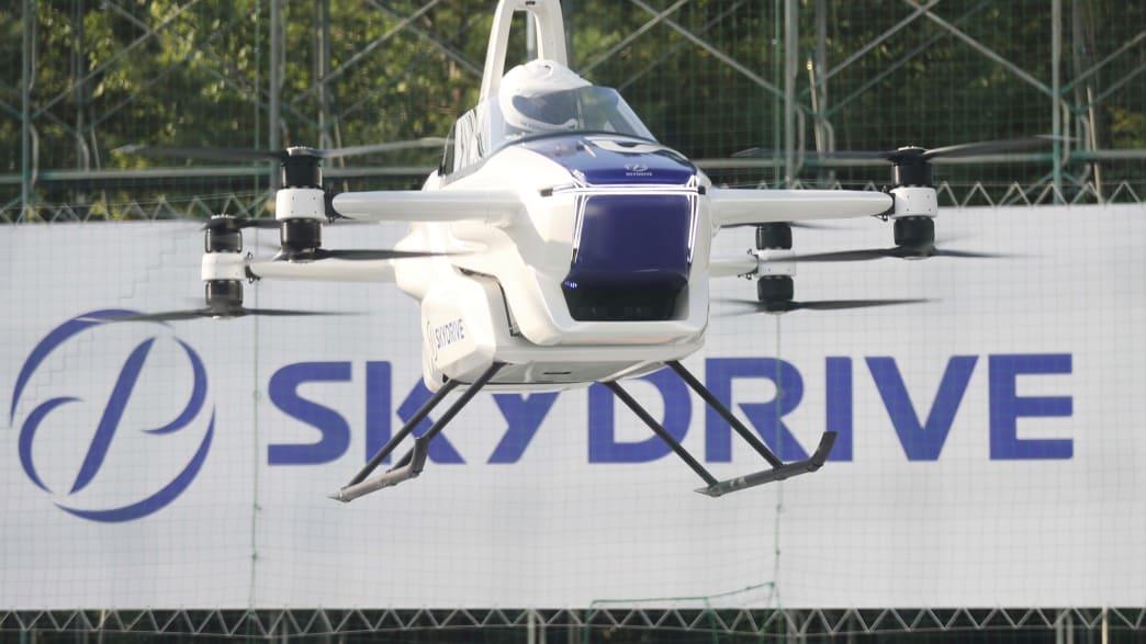 """das """"fliegende Auto"""" Skydrive in Action"""