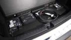 Aufbewahrungsfach im Kofferraum des Mercedes EQA