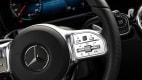 Lenkrad Detail des Mercedes EQA