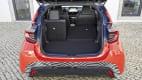 Kofferraum des Toyota Yaris