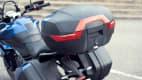 Motorradkoffer an einer Triumph Tiger Sport 660