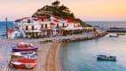 das Dorf Kokkari auf Samos
