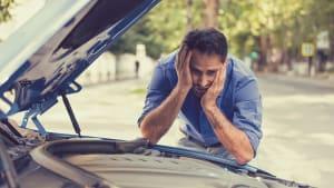 Frust über Autopanne