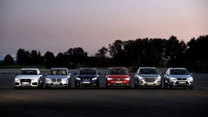 VW Tiguan Audi Q3 BMW X1 Seat Ateca Hyundai Tucson Nissan Quashqi