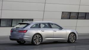 Audi A6 Avant in Silber