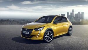 Vorstellung eines Peugeot auf dem Genfer Autosalon