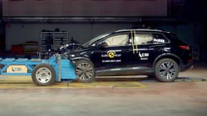 Audi Q4 e-tron im Euro NCAP Crashtest
