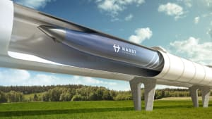 die Röhre des HyperloopTT