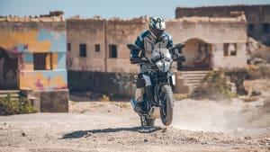 KTM 390 Adventure offroad fahrend
