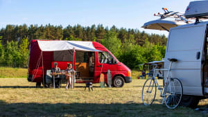 Ein neuer PopUp-Campingplatz in Lohmühlen bietet spontan freie Fläche zum Camping