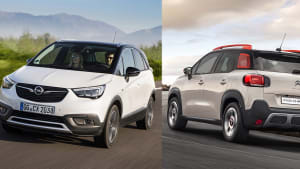 Opel Crossland X Citroen C3 Aircross