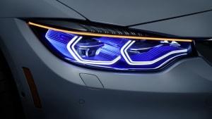 Close ups der BMW M4 Concept Iconic Lights