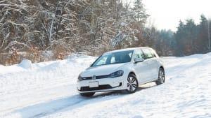 E-Golf im Winter