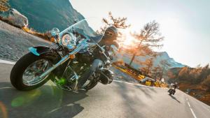 Mit dem Motorrad durch Österreich