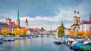 Zürich im Herbst