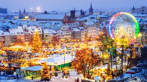 Weihnachtlicher Christkindlmarkt in Erfurt