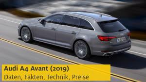 Youtube Video Vorschau Preview Audi A4 Avant 2019