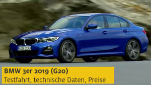 Test eines 3er BMW