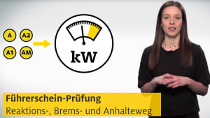 Video über die wichtigsten Formeln für die Führerscheinprüfung