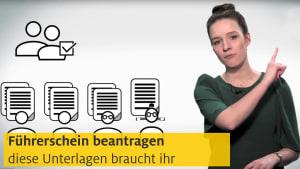 Video über die notwendigen Unterlagen für die Führerscheinprüfung