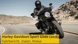 Vorschaubild Youtube Harley-Davidson Sport Glide Motorrad