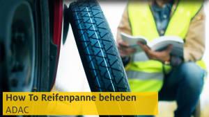 Video zum richtigen Verhalten nach einer Reifenpanne