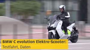 Video BMW C evolution Elektro-Scooter