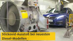 Stickoxid-Ausstoss bei den neuesten Diesel-Modellen