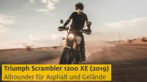 Youtube Vorschau Triumph Scrambler 1200 XE Motorrad
