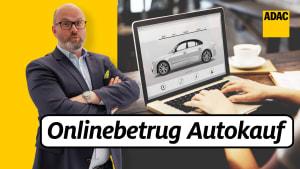 ADAC Jurist Alexander Sievers klärt über den Onlinebetrug beim Autokauf auf