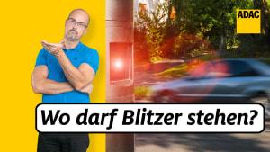 ADAC Jurist Klaus Heimgärtner klärt auf, wo Blitzer stehen dürfen