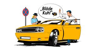 Beleidigung im Starßenverkehr